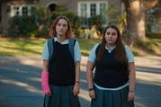 "Saoirse Ronan and Beanie Feldstein in ""Lady Bird"" (image via A24)"
