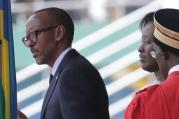 President Paul Kagame is sworn in for another term at the Amahoro Stadium in Kigali, Rwanda, on Aug.18. (AP Photo Eric Murinzi)