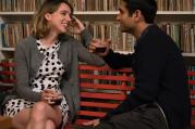"Emily (Zoe Kazan) and Kumail (Kumail Nanjiani) in ""The Big Sick."" Photo courtesy of Amazon Studios."
