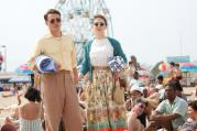 "SEASICK. Emory Cohen and Saoirse Ronan in ""Brooklyn"" (CNS photo/Twentieth Century Fox)."