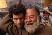 Andre Dubus III and his father, Andre Dubus (photo from the memoir, Townie)