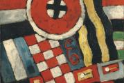 """Berlin Abstraction,"" by Marsden Hartley (1914-1915)"