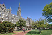 Georgetown University in Washington, D.C. (iStock/aimintang)