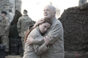 Anthony Hopkins and Florence Pugh in the new Amazon/BBC version of 'King Lear'