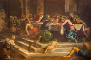 """Last Supper of Christ"" by Jacopo Tintoretto"