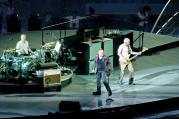 NEW EVANGELISTS? U2 performs in Milan, Italy.