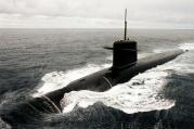 A French nuclear submarine