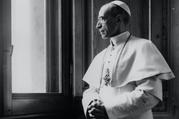 Pope Pius XII is pictured at the Vatican in a file photo dated March 15, 1949. (CNS file photo)