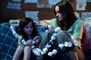 ALONE TOGETHER. Jacob Tremblay and Brie Larson in 'Room.'