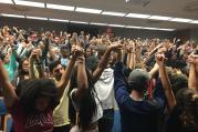 Photo taken at the Black Student Union meeting on Nov. 9.