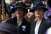 "Carey Mulligan, right, in ""Suffragette"""