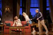 Robert Sella, Annaleigh Ashford and Matthew Broderick in 'Sylvia'