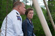 "Woody Harrelson and Frances McDormand in ""Three Billboards Outside Ebbing, Missouri"" (photo: Fox Searchlight)"