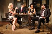 "TABLE TALK. The cast of ""Disgraced."""
