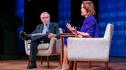 The tête-à-tête between Paul Krugman and Nancy Pelosi in Manhattan was like a documentary about a once-popular rock band. (Rod Morata/Michael Priest Photography)