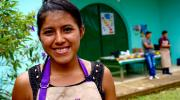 Angelita, age 18, at the Nuevo Eden coffee cooperative in San Marcos, Guatemala, Oct. 5, 2016