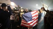 Opponents and supporters of Donald Trump yell at each other in front of the Media outside of a 2016 rally in Costa Mesa, CA.  (Photo: Jason Zeis / Unsplash)
