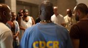 'The Work' follows inmates in an intensive group therapy session at Folsom State Prison (image: IMDB)