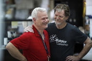 Baker Jack Phillips, owner of Masterpiece Cakeshop, pictured right, June 4 (AP Photo/David Zalubowski)