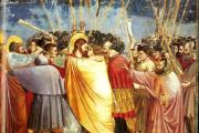"""The Kiss of Judas,"" by Giotto"