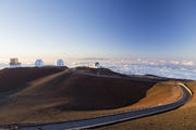 Mauna Kea is already dotted with telescopes, but T.M.T. would dwarf them all. (iStock/Jarin13)