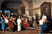 """Christ in Front of Pilate,"" by Mihály Munkácsy, 1881"