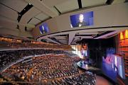 Crowd Sourcing: Sunday service at the 7,000-seat Willow Creek Community in South Barrington, Ill.
