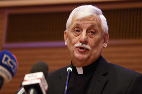 Jesuit Father Arturo Sosa Abascal (CNS photo/Paul Haring)