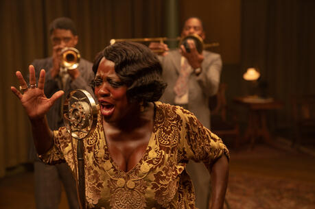 "Viola Davis as Ma Rainey in ""Ma Rainey's Black Bottom"" (David Lee/Netflix)."