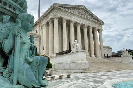 A general view of the U.S. Supreme Court in Washington on May 3, 2020. (CNS photo/Will Dunham, Reuters)