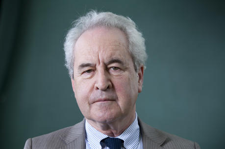 John Banville at the Edinburgh International Book Festival 2015 (photoL Gary Doak/Writer Pictures via AP Images).