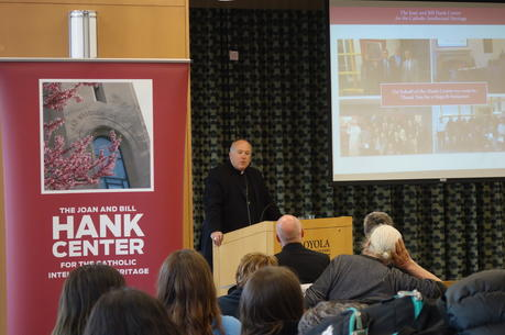 Photo: the Hank Center at Loyola University Chicago