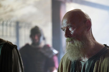 "James Faulkner stars as Paul in a scene from in the film ""Paul, Apostle of Christ."" (CNS photo/Sony Pictures)"