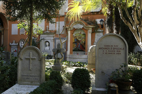 The Teutonic cemetery at the Vatican is seen in this 2015 file photo. (CNS photo/Paul Haring)