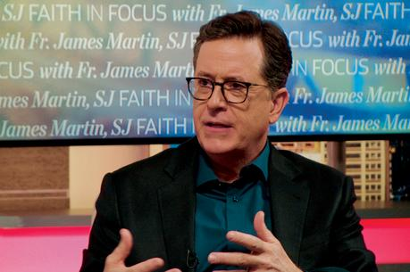Father James Martin's interview with late-night host Stephen Colbert was America's most-watched video of 2018.