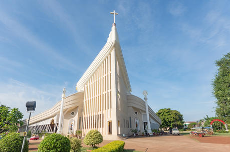 St. Michael Cathedral in Tha Rae, Thailand (iStock photo)