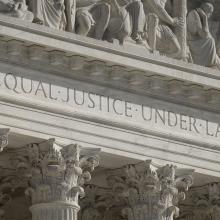 The U.S. Supreme Court in Washington is seen on Jan. 31. (CNS photo/Tyler Orsburn)