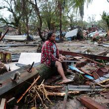 Destruction in Puerto Cabezas, Nicaragua, Nov. 17. (CNS / Oswaldo Rivas, Reuters)
