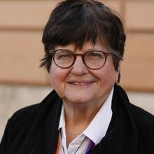 Sister Helen Prejean, a Sister of the congregation of St. Joseph.