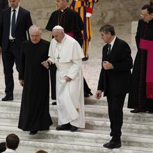 Pope Francis will miss three events this week due to painful sciatica