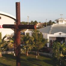 St. Martin de Porres Church in Belize City (photo courtesy of the author)