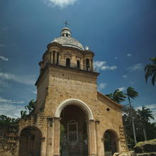 "The ruins of the church where the constitution of Simón Bolívar's ""Gran Colombia"" was signed. Photo by Antonio De Loera-Brust"