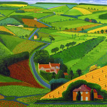 """The Road Across the Wolds"" (1997)"