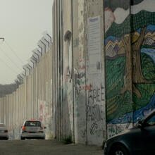 Security wall outside Bethlehem (photo by author)