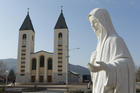 A statue of Mary is seen outside St. James Church in Medjugorje, Bosnia-Herzegovina, in this Feb. 26, 2011, file photo. (CNS photo/Paul Haring)