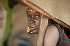 A South Sudanese girl is seen at the Nguenyyiel refugee camp in Gambella, Ethiopia, in October 2017. (CNS photo/Tiksa Negeri, Reuters)