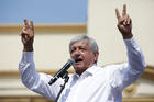 Mexican presidential front-runner Andres Manuel Lopez Obrador of the National Regeneration Movement is seen during a campaign rally in Guadalupe, Mexico, May 6. (CNS photo/Daniel Becerril, Reuters)