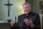 Cardinal George Pell is pictured in a screen grab during an interview that aired April 14 on Sky News Australia. (CNS screen grab)