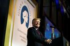 U.S. President Donald Trump gives the keynote address at the Susan B. Anthony List 11th Annual Campaign for Life Gala May on May 22, 2018, at the National Building Museum in Washington. (CNS photo/Al Drago, Reuters)