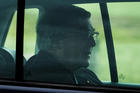 Cardinal George Pell is seen in a car after being released from Barwon prison in Geelong, Australia, April 7, 2020. (CNS photo/James Ross, AAP Image via Reuters)